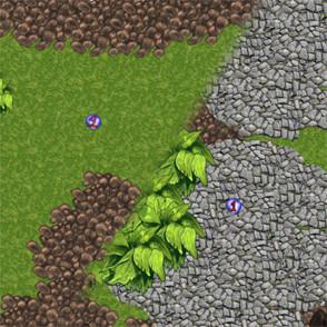 Пример Игра на двоих с разделением экрана