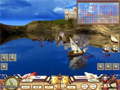 3D морской бой — Великая морская баталия