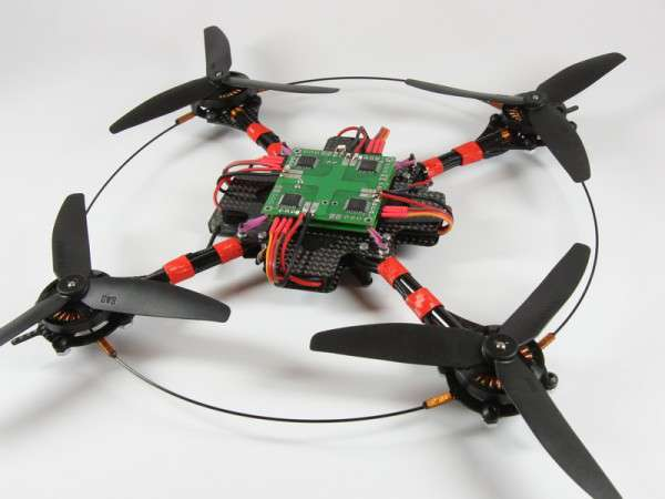 Квадрокоптеры или летающие роботы